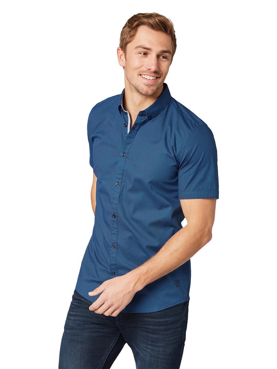 Рубашка Tom Tailor 1008193 L Синий
