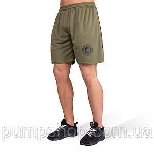 Мужские спортивные шорты Gorilla Wear Forbes Shorts army green XXL