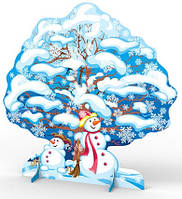 Декорация напольная театральная Зимнее дерево