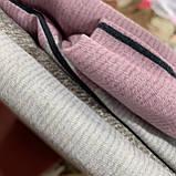 Полуторный комплект постельного белья с простынью на резинке 150*220см. Постельное белье с фланели, фото 2