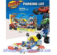 Трек парковка - гараж Blaze Вспыш и чудо-машинки