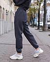 Зимнее спортивные штаны женские в цвете графит Эми от бренда ТУР  размер: XS, S, M L, фото 2