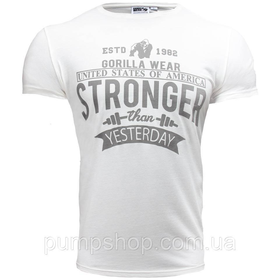 Спортивна чоловіча майка Bodybuilding Clothing Simple Classic Y Back Tank кремовий XXL