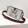 Ексклюзивна каркасна сумочка Love and Queen, фото 2