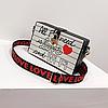 Ексклюзивна каркасна сумочка Love and Queen, фото 3