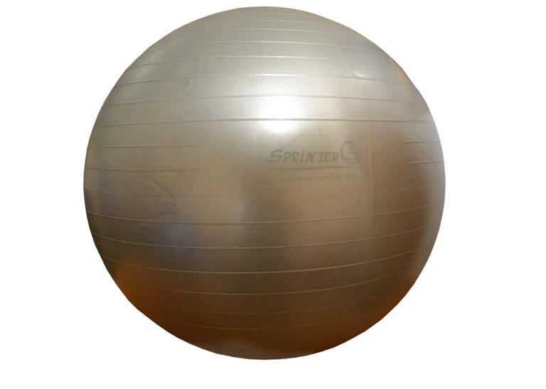 Мяч для фитнеса GYM BALL, матовый. d - 85 см СТАЛЬНОЙ