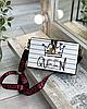 Ексклюзивна каркасна сумочка Love and Queen, фото 7