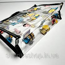 Косметичка прозрачная силиконовая купить оптом, фото 2