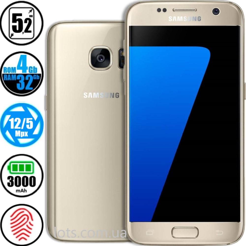 Смартфон Samsung Galaxy S7 (4/32Gb) SM-G930F Gold
