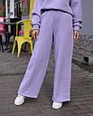 Зимнее спортивные штаны женские лиловые Джин от бренда ТУР  размер: S-M, фото 3