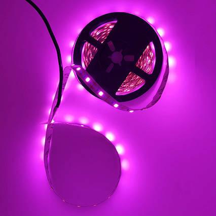 Светодиодная Розовый LED 5v/В лента SMD 2835