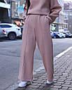 Зимнее спортивные штаны женские бежевые Джин от бренда ТУР  размер: S-M, фото 3