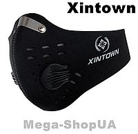 Спортивная маска респиратор с угольным фильтром многоразовая. Маска многоразовая. Маска для тренировок WA0580B, фото 1