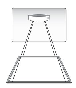 Комплект креплений с фурнитурой для подвесного монтажа LED панели Фурнітура підвісна (KKPM) 25137