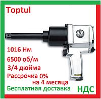 Toptul KAAB2475. Пневмогайковерт 3 4 дюйма, 1016 Нм, 6500 об, для шиномонтажа, ударный, воздушный, топтул