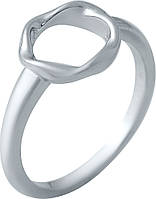 Серебряное кольцо SilverBreeze с натуральным перламутром (2038825) 18 размер, фото 1