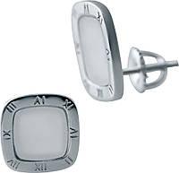 Серебряные серьги SilverBreeze с натуральным перламутром (2038030), фото 1