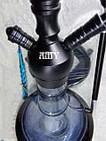 Кальян AMY DELUXE 057 черный цвет, фото 5