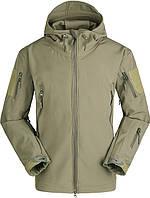 Тактическая куртка Soft Shell (Песочный) L, фото 1