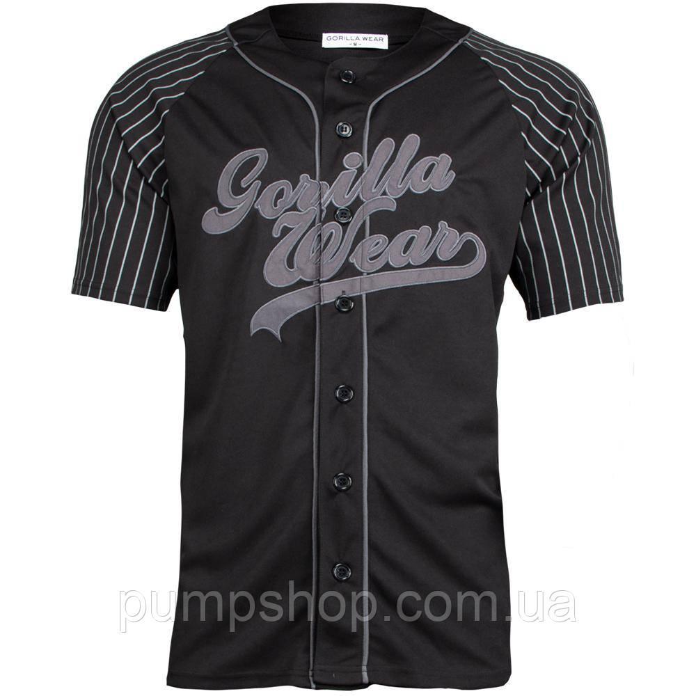 Бейсбольная футболка Gorilla Wear 82 Jersey XL, XXL черная