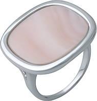 Серебряное кольцо SilverBreeze с натуральным перламутром (2041696) 18.5 размер, фото 1