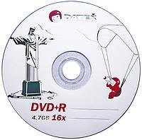 """DVD-R 50 шт Datex DVD-R 4.7Gb """"Jesus in Rio"""" Pack-50"""