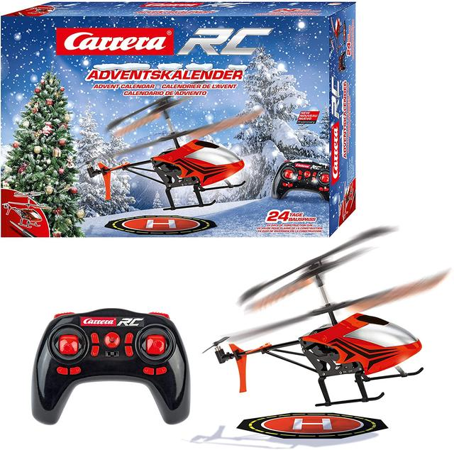 Carrera RC helicopter with Advent calendar
