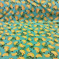 """Стрейч-кулир """"Бананы"""" - 180см. (диджитал)."""