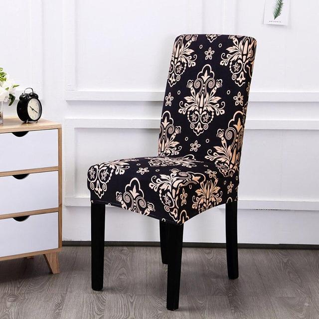 чехлы на стулья синие