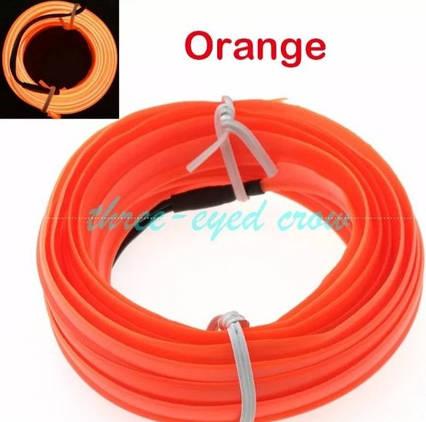 Неон Оранжевый с кантом, для швов 2.3мм