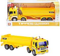 """Спецтехника """"City Service"""" желтый WY577A/B"""