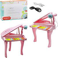 Пианино на ножках, розовый HY675-E