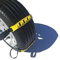Набор браслетов противоскольжения NIKEN Panzer Kar в чемодане цепи на колеса из прочного пластика р 14-19