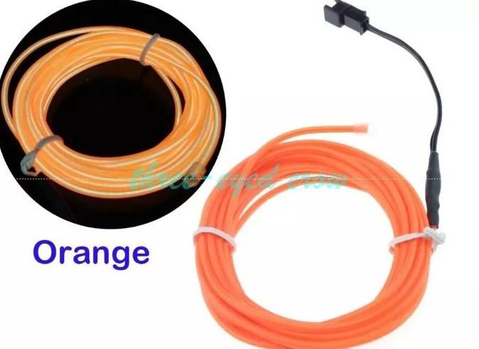 Неон Оранжевый 2.3мм