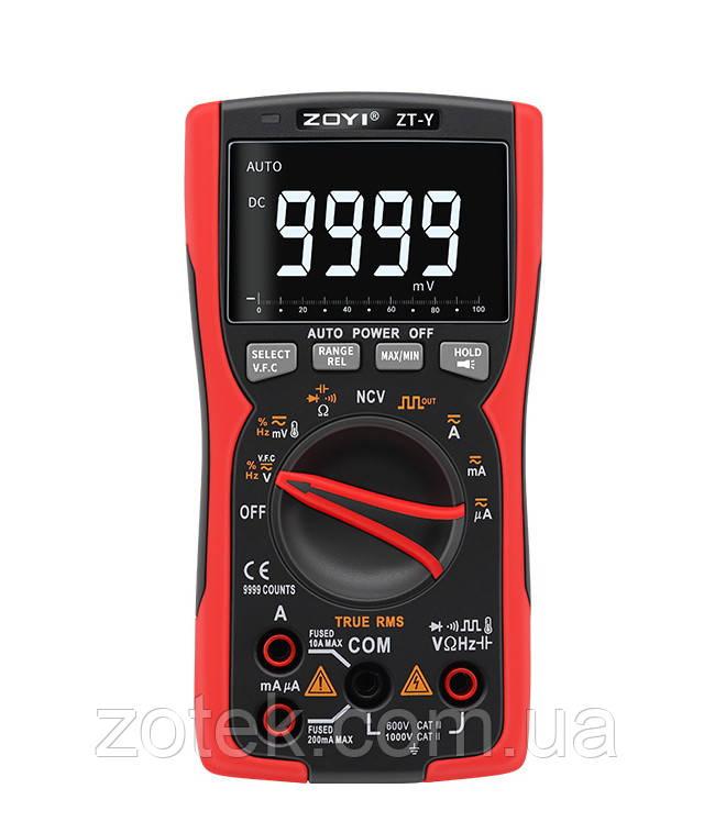 Мультиметр ZOYI ZT-Y RM777 9999 відліків ZOTEK (Richmeters RM777, ANENG SZ18) тестер вольтметр