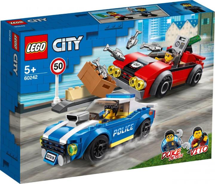 Lego City Арест на Шоссе