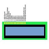 Индикатор ЖКИ 1602A-YG с подсветкой LCD 1602, фото 5