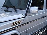 Вставки в молдинги Brabus Mercedes G-Сlass W463, фото 3