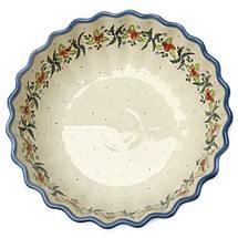 Керамический рифленый салатник высокий 27 Cowberry, фото 3