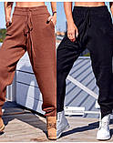 Спортивные штаны женские. Цвета- светлый беж, чёрный, серый, капучино, фисташка, фото 2