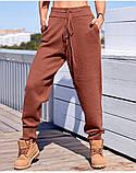 Спортивные штаны женские. Цвета- светлый беж, чёрный, серый, капучино, фисташка, фото 7