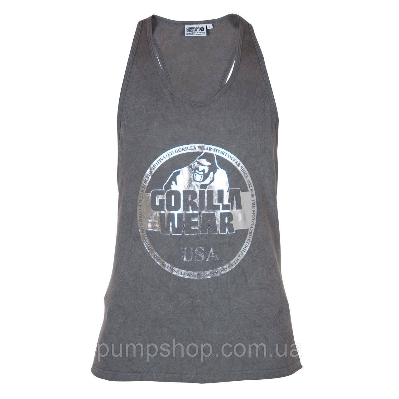 Спортивная майка Gorilla Wear Mill Valley Tank Top XXL серая