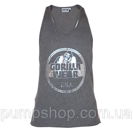 Спортивная майка Gorilla Wear Mill Valley Tank Top XXL серая, фото 2