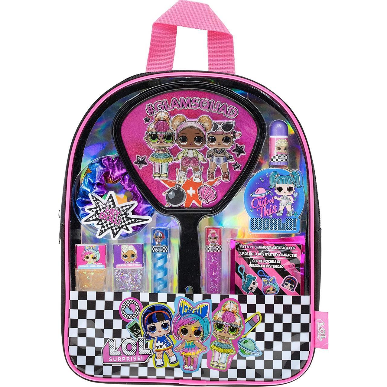 Набор косметики для девочки ЛОЛ в рюкзаке Townley Girl Оригинал из США