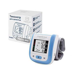 Тонометр автоматический на запястье MEDICA+ Press 402 PN с манжетой (Япония)