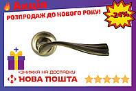Ручка на розетке FZB - Sofia 15-131 AB