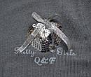 Детское трикотажное платье Pretty Girl серое (р. 110-140 см)(QuadriFoglio, Польша), фото 2