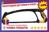 Ножовка по металлу Сила - 300 мм металлическая ручка PRO