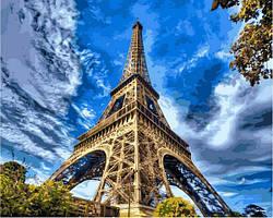 Картина по номерам 40×50 см Babylon Небо Парижа (VP 1342)