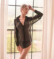 Жіноча сорочка + стрінги, фото 1